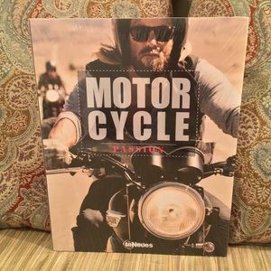 Motorcycle Cocktail Table Book